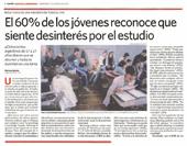 claudia-messing-EL-60%-DE-LOS-JOVENES-RECONOCE-QUE-SIENTE-DESINTERES-POR-EL-ESTUDIO-diario-clarin